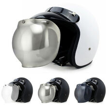 New Beyond Motorcycle Scooter Rider Harley Helmet With Bubble Visor M99G Unisex