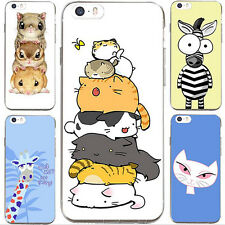 1Pcs Case Lovely Cell Silicon Cover Animal For iPhone Soft Hot Phone Shell New
