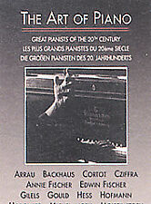 The Art of Piano - Great Pianists of 20th Century by Vladimir Horowitz, Artur R