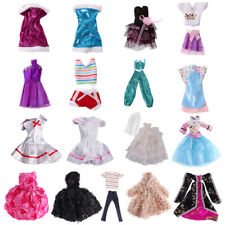 Wedding Party Gown Dress Clothes Outfit Skirt Suit for Barbie Dolls Liv Doll