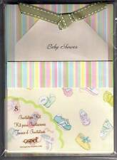 Gartner Set of 8 Baby Shower Invitation Kit w/Envelopes - New!