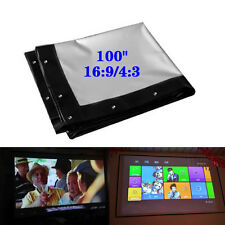"100"" 16:9/4:3 M99G Foldable Projector Soft Screen HD Movie Cinema Theater Beyond"