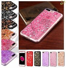 Apple iPhone 7 /Plus BLING Hybrid Glitter Rubber Silicone Protective Case Cover
