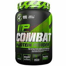Muscle Pharm COMBAT PROTEIN POWDER 4lb-Chocolate Peanut Butter Or Cookies &Cream
