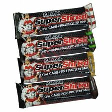 Max's Supplements SUPERSHRED PROTEIN BARS 60g CHOCOLATE - 1Pc Or Box Of 12Pcs
