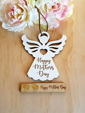 Mothers Day Gift White Angel and Earrings Set MADE IN AUSTRALIA