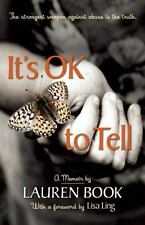 It's Ok to Tell: Story of Hope & Recovery Book, Lauren HC Like New Free Shipping