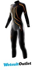2XU Ladies X:1 Project X TRIATHLON Wetsuit in Black / Gold WW1825
