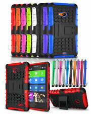 Motorola DROID MAXX 2 Verizon (2015) Shockproof Tough Armour Case Cover & Stylus