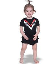 Rugby League NRL New Zealand Warriors Girls Footysuit Tutu Frill Skirt Baby