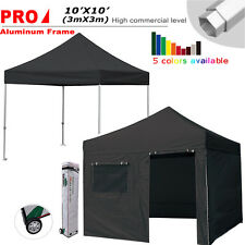 Ez Pop Up Canopy Shelter Tent 10x10 Commercial Outdoor Patio Gazebo +Wheeled Bag