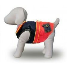 Dog Coat - French Canvas, Fleece Lined with Pockets
