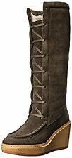 See By Chloe Women's Tall Wedge Shearling Boot - Choose SZ/Color