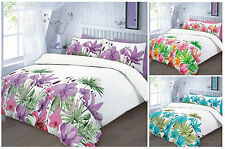 Luxury Floral Lily Duvet Cover Set Bedding Set Quilt Cover with Pillowcases