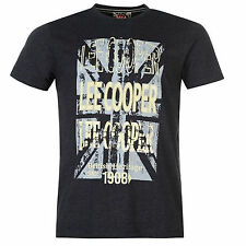 Lee Cooper Marl Retro T-shirt Mens (RRP:£19.99)