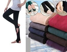 Women Girl Winter Thick Warm Pantyhose Slim Stretch Stirrup Tights