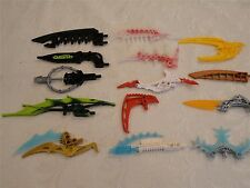 LEGO BIONICLE WEAPONS LOT Mixed Colors ~ 14 Pieces Parts