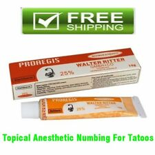 25% Proaegis Skin Piercing Numbing for Tattoo Topical Anesthetic Cream No Pain