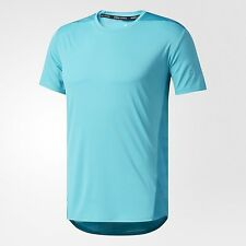 adidas Performance SUPERNOVA TKO COOL MEN'S TEE, ENERGY BLUE- Size S, M, L Or XL