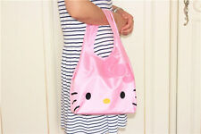 Hellokitty Shopping Travel Shoulder Bag Pouch Tote Handbag Folding Reusable LY8Q