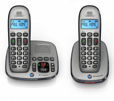 BT Freelance XD8500 Cordless Phone with Answering Machine - Twin Handsets