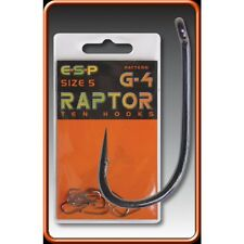 Esp G4 hooks barbed/barbless various sizes