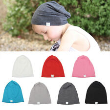 Infant Toddler Kids Fashion Warm Cotton Knit Baby Hat Crochet Slouch Beanie Caps