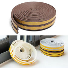 5m Foam Self-Adhesive Window Door Excluder Seal Strip Rubber Tape Weatherstrip