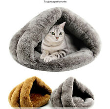 Pet Bed Dog Cat Basket House Puppy Mat Cushion Doggy Soft Warm Cotton Kennel