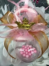 Baby Shower Baby Pacifier Prince or Princess Rattle Centerpiece Decoration