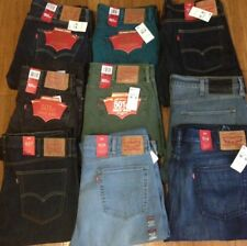 Mens Levis Jeans Size 38x32 510 501 513  511 505 Slim Straight Tapered Stretch