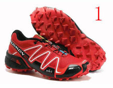 @1 Men's Salomon Shoes Speedcross 3 Athletic Running Sports Outdoor Hiking Shoes