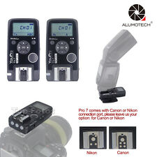 Remote Shutter Release Wired/Wireless Timer Transmitter Receiver For Canon/Nikon
