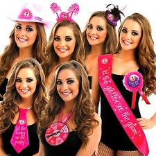 3 FOR 1 Take Me Out Hen Party Girls Night HEAD BOPPER SASHES HAT ROSETTE STICK