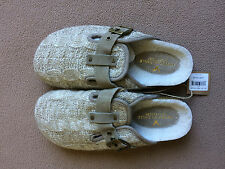 American Eagle Womens Knit Clog Sandals - Taupe - Size 5 - NWT