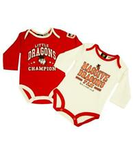 Rugby League NRL St George Dragons Bodysuit Gift Set for Babies under 1