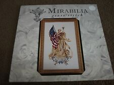 "MIRABILIA "" Lady Liberty ( The Lady of the Flag )"" Counted Cross Stitch Pattern"