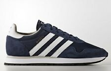 adidas Originals MEN'S HAVEN SHOES Ripstop Upper NAVY/WHITE - Size US 8, 9 Or 13