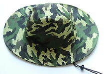 New Camo Hunting Fishing Outdoor Cap Bucket Hat Washed Cotton