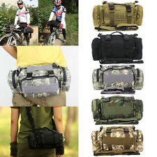 Tactical Camping Sport Hiking Bike Bicycle Military Army Travel Waist Bag Pack