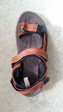 GENUINE BRITISH ARMY ISSUE SANDALS - SPORTS - WARM WEATHER - BROWN - USED
