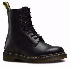 DR.MARTENS UNISEX NEW 1460 8-Eye Boot BLACK SMOOTH GENUINE DOC