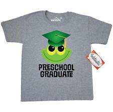 Inktastic Cute Preschool Graduation Frog Youth T-Shirt Pre-k Graduate Gift Funny