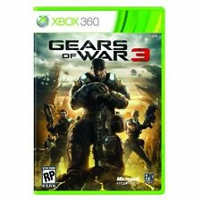 GEARS OF WAR 3 XBOX 360 BRAND NEW SEALED UK PAL
