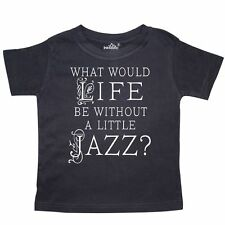 Inktastic Jazz Music Lover Quote Toddler T-Shirt Musical Musician Band Fan Gift