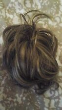 Ken Paves / Jessica simpson/ Hairdo clip in updo hair piece, brown/ blonde.