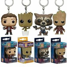 Baby Groot PVC Keyring Guardians Of The Galaxy Vol.2 Action Figure Keychain Gift