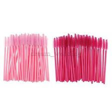 50/ 100 pcs Disposable Eyelash Mascara Wands Applicator Eye Lash Makeup Brushes