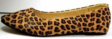 Women's Leopard Ballet Flats  Slip On Shoes Casual Ballerina Loafer