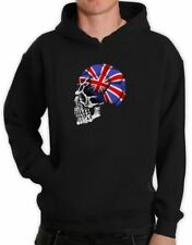 Great Britain Flag 2015 World Cup Skull Hoodie UK England Football Soccer Team